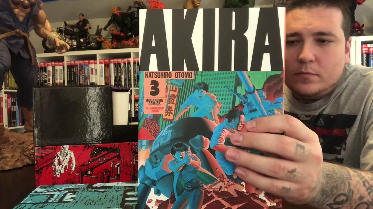 Akira 35th Anniversary Box Set Review By Gem Mint Youtube
