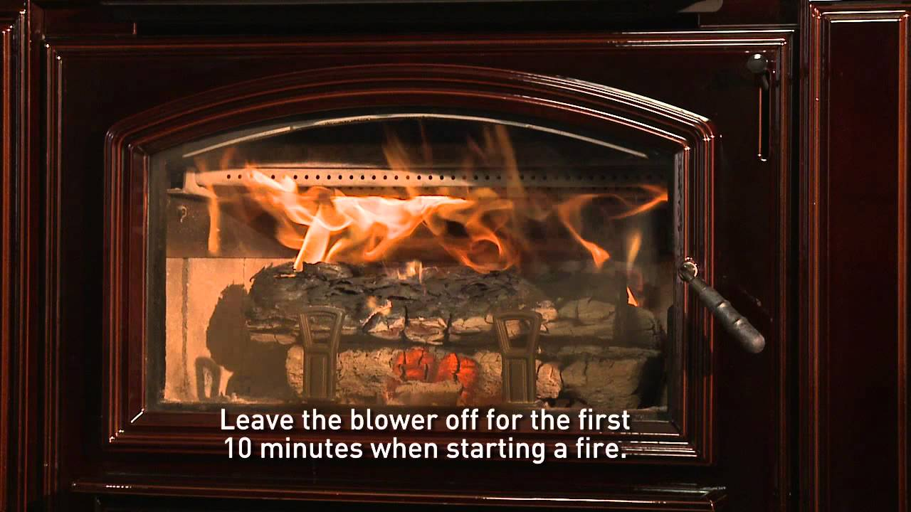 - Quadra-Fire® Wood Stove Or Insert: Building A Fire Video - YouTube