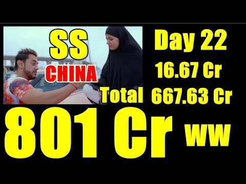 Secret Superstar Box Office Collection Day 22 CHINA I 800 Cr Worldwide