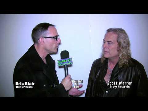 Dio and Heaven & Hell's Scott Warren talks w Eric Blair @ NAMM 2013