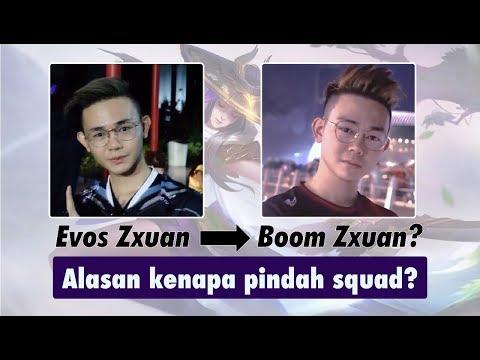 Boom SG = Zxuan's New Team?