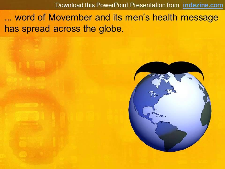 Movember powerpoint presentation youtube toneelgroepblik Gallery
