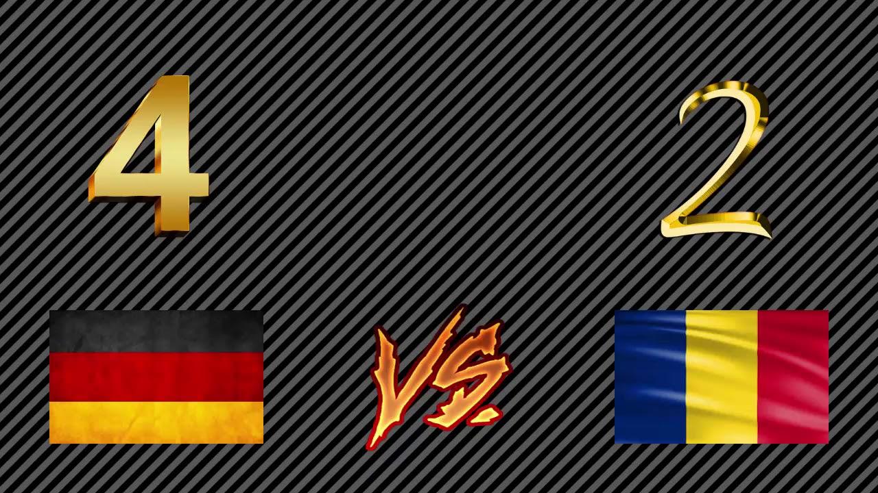Deutschland Vs Rumänien