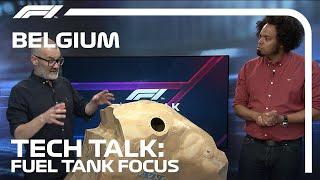 Explaining The Fuel Regulątions   F1 TV Tech Talk   2021 Belgian Grand Prix   Crypto.com