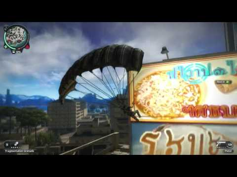 A quick snippet from the madness that is Just Cause 2 (Part 1)