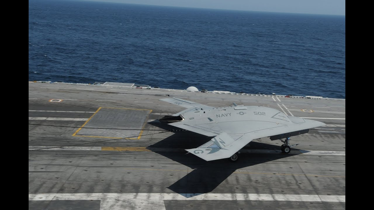 US Navy - X-47B UCAS Completed First & Second Carrier ...