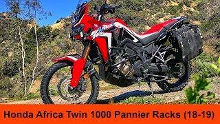 Honda CRF1000L Africa Twin 2018-2019 Standard - Pannier Racks Installation
