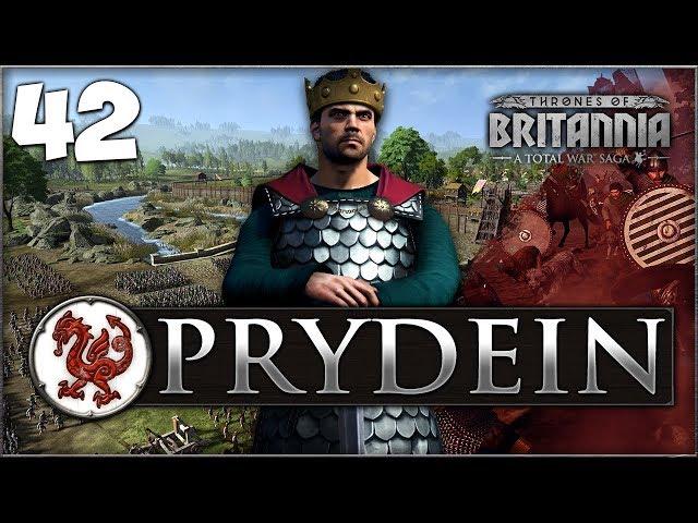 SAILING INTO DUBLIN! Total War Saga: Thrones of Britannia - Prydein Campaign #42