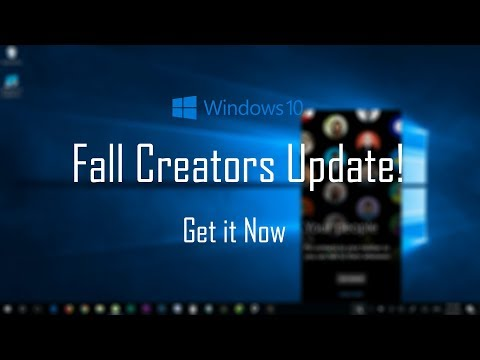 How to Get Windows 10 Fall Creators Update Now! (Official)