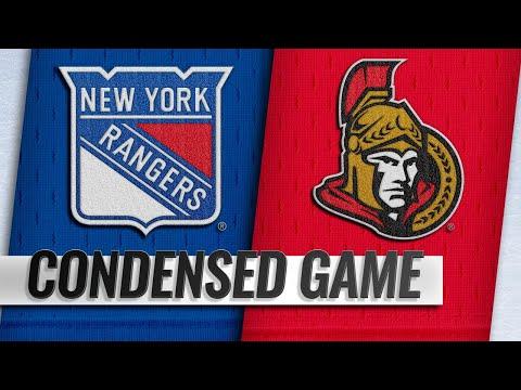 11/29/18 Condensed Game: Rangers @ Senators