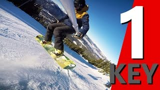 The 1 Key for Learning Snowboarding Tricks(In this video I'm going to share with you the one key for learning snowboarding ticks. From my experience of learning and teaching snowboarding tricks, the one ..., 2016-01-24T06:45:45.000Z)