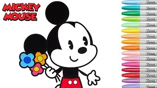 Disney Coloring Book Mickey Mouse Coloring Pages Episode Rainbow Splash