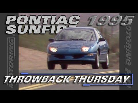 Test Drive Of The 1995 Pontiac Sunfire - Throwback Thursday