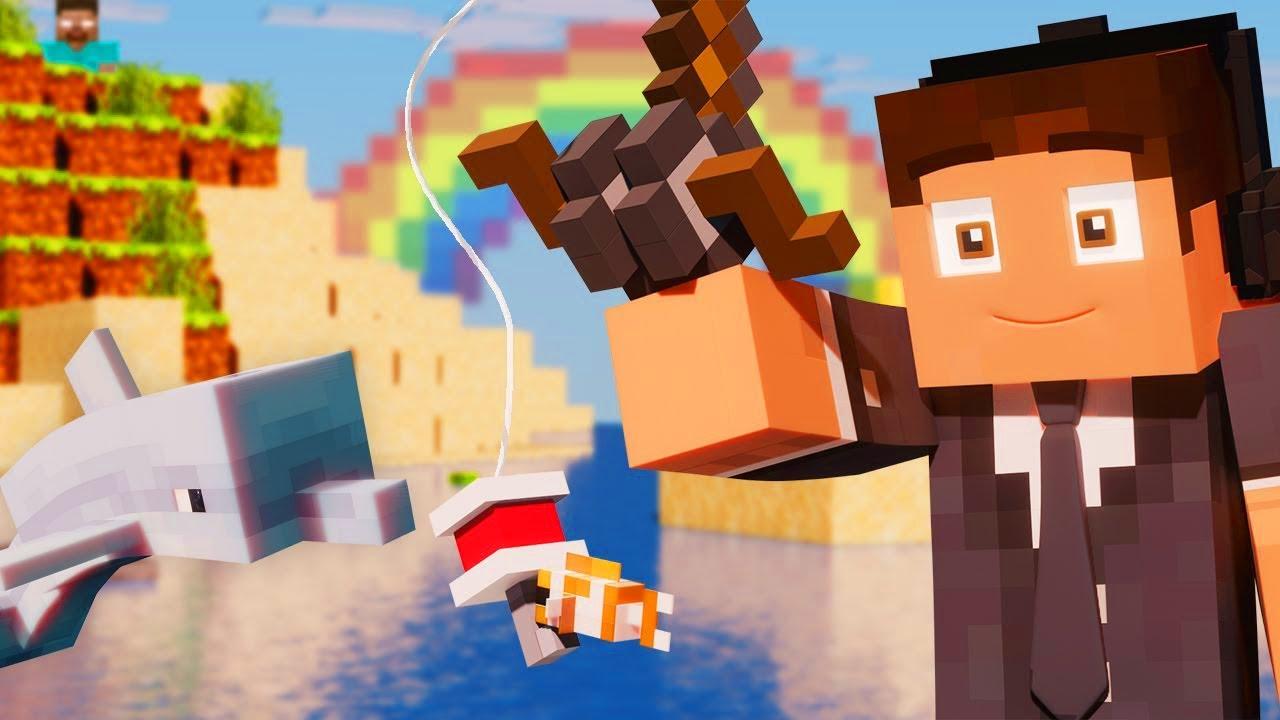 SWIMMIN - Best Minecraft Song 10 (Minecraft Animation)