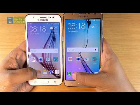 Samsung GALAXY J7 vs GALAXY J5 - Comparison & SPEED TEST!