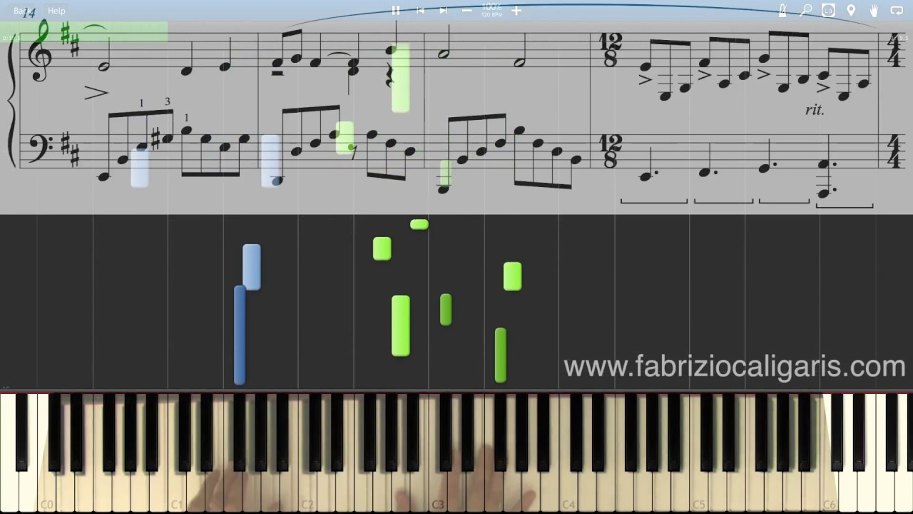 Think Of Me Piano Cover Tutorial Pdf Midi