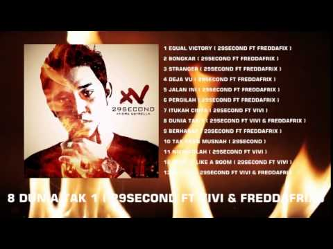 HIP HOP INDONESIA NEW ALBUM 29SECOND 2015 XV ( CONVERT AUDIO QUALITY)
