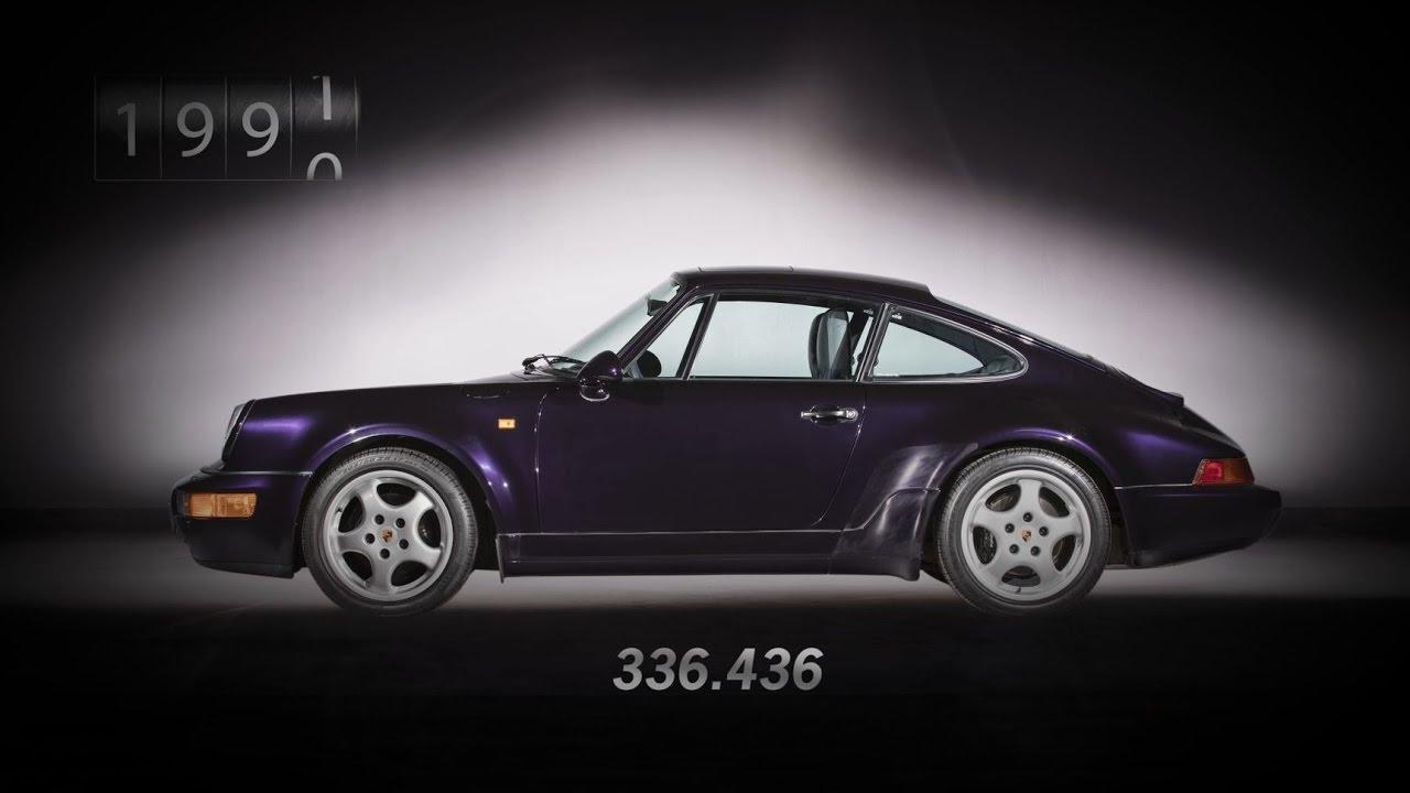 7c7442359c Las 7 generaciones del Porsche 911 en un brevísimo vídeo