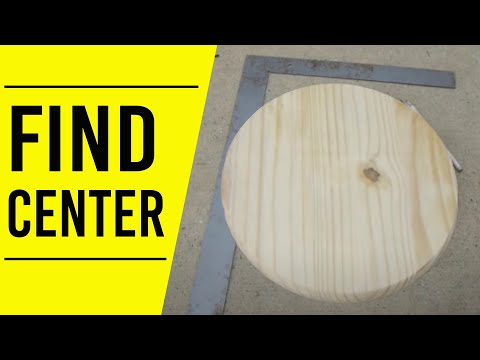 How to Find the Center of a Circle
