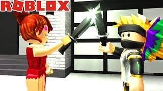 GIRL WANTS TO KILL ME! -ROBLOX #480
