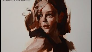 Oil Painting Portraits Tutorial by Zhu Kai Master Artist