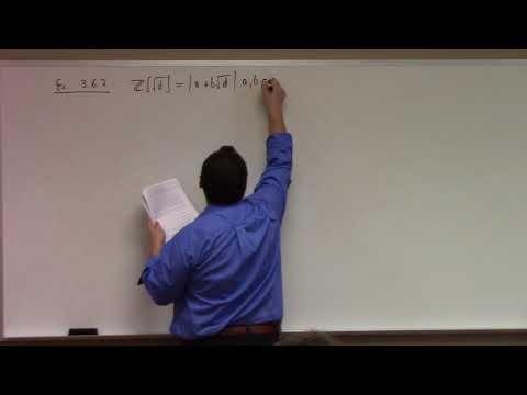 Abstract Algebra: associates, irreducibles, primes 11-17-17