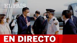 DIRECTO | SÁNCHEZ comparece junto al presidente de SENEGAL