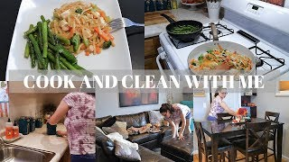 COOK AND CLEAN WITH ME 2018