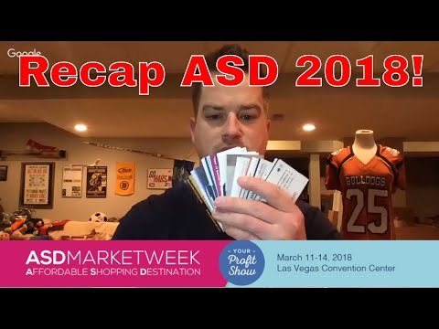 ASD Show Las Vegas 2018 Recap, Wholesale Purchases and Big Things to Come