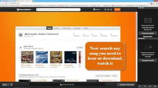 How to download FREE MUSIC [grooveshark]
