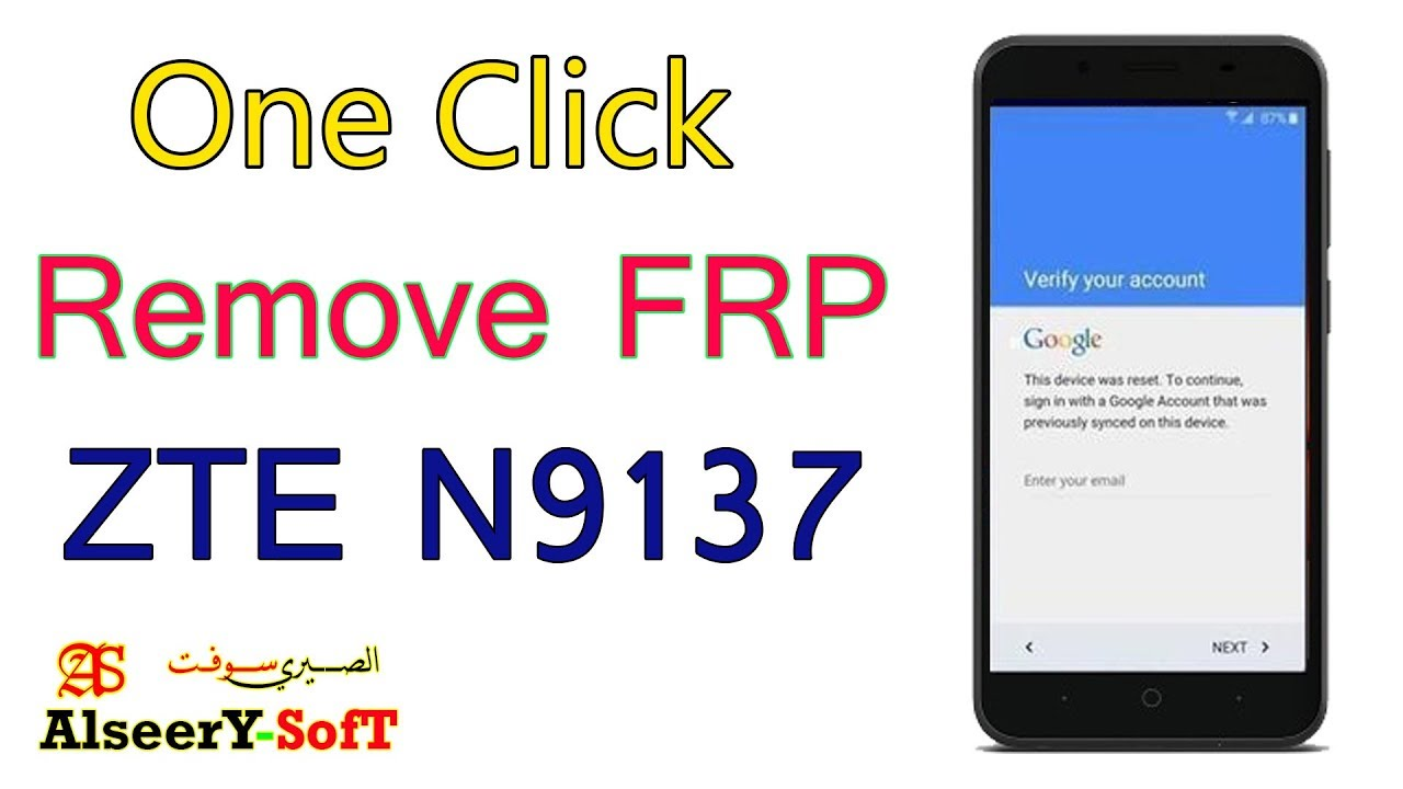 How to bypass FRP ZTE N9137 | Google Account