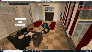 Interview with the President [ Roblox: New France