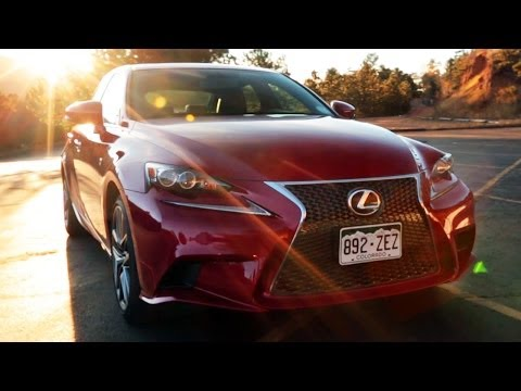The One With The 2013 Lexus IS 350 F Sport at Pikes Peak! -  World's Fastest Car Show Ep 3.25