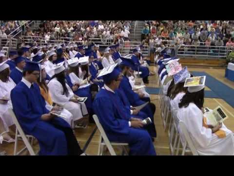 Castlewood Graduation 2016 June 5 2016 Youtube