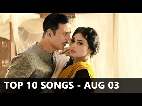 Top 10 Bollywood Songs Of The Week (Radio Mirchi Charts) - August 3, 2018