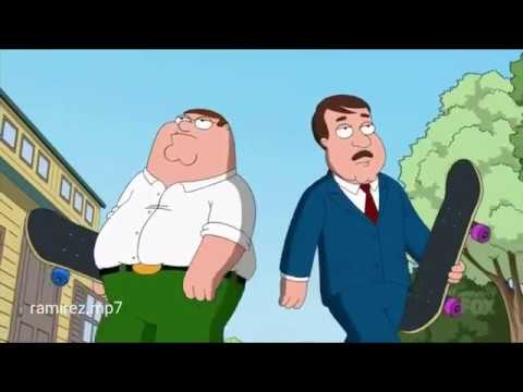 Family Guy -  elijah who - skateboard p