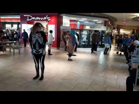 Flash Mob at the Avalon Mall
