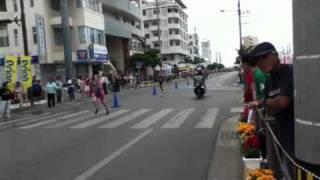 石垣島トライアスロン2011年 庭田清美 選手