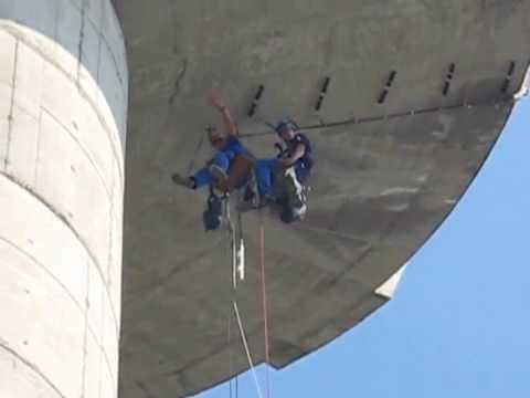Extreme jobs-rope access - Kodar Group - Marinjo Belgrade