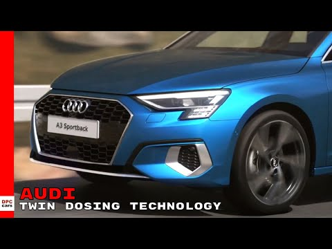 2021 Audi A3 Sportback Twin Dosing Technology
