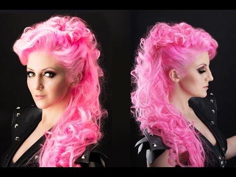 Grunge Fauxhawk Hair Tutorial