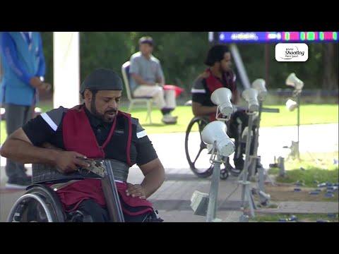 Saif Alhemeiri   Para Trap   World Shooting Para Sport World Cup   Al Ain 2019