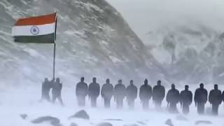 National Anthem Of India - The Siachen Glacier - Indian Army - Jana Gana Mana
