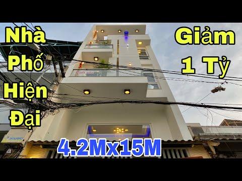 Bán Nhà Gò Vấp  Nhà Phố Hiện đại đẹp Lung Linh Tại đường Lê Văn Thọ đang Giảm Giá 1 Tỷ giá Rẻ 6.3 Tỷ