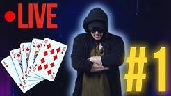 Joc POKER LIVE la BUY IN 1$