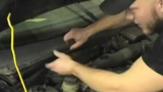 MicronAir Cabin Air Filter installation 2000-2004 Ford Focus