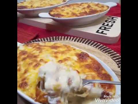 Gratin Fruits De Mer Seafood Gratin Youtube