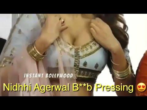 Nidhhi Agerwal Adjusting Her B**bs thumbnail