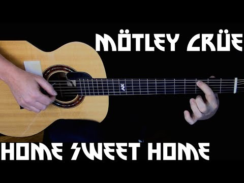 Kelly Valleau - Home Sweet Home (Mötley Crüe) - Fingerstyle Guitar