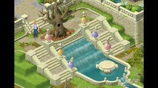 GARDENSCAPES NEW ACRES Gameplay Story Playthrough | Area 6 Day 1 and Day 2 New Waterfall Area!